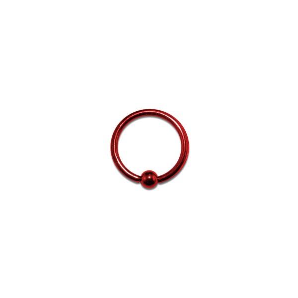 acheter piercing labret anneau anodis rouge bcr pas cher. Black Bedroom Furniture Sets. Home Design Ideas
