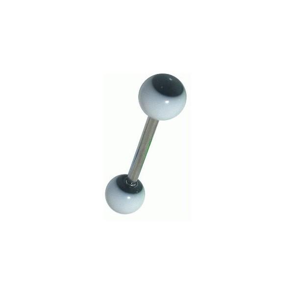 piercing langue pas cher noir r actif uv. Black Bedroom Furniture Sets. Home Design Ideas