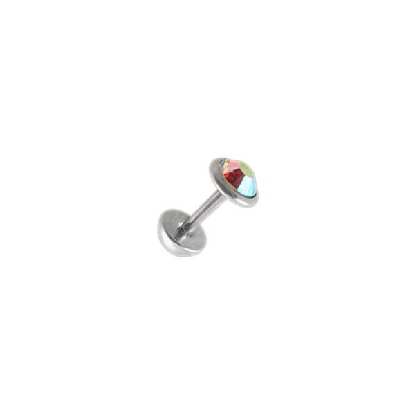 vente faux plug oreille pas cher zircone cz multicolore 5 mm demi boule. Black Bedroom Furniture Sets. Home Design Ideas