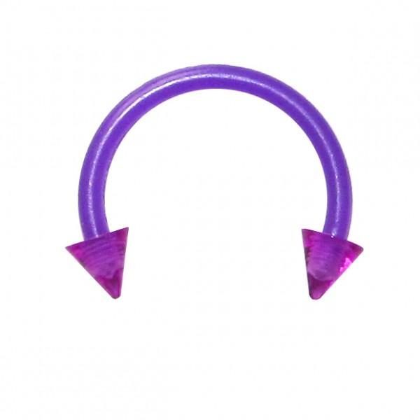 Rainbow Metallic Fake Septum Ring