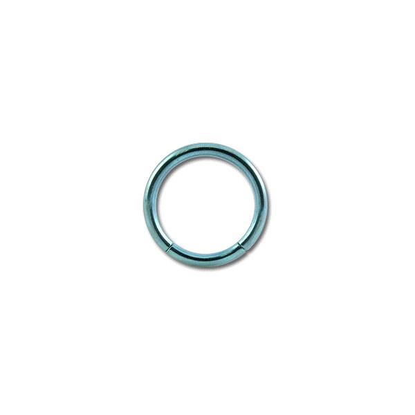 piercing labret anneau titane anodis bleu clair. Black Bedroom Furniture Sets. Home Design Ideas