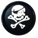 Plug Oreille / Lobe Blackline Pirate Blanc