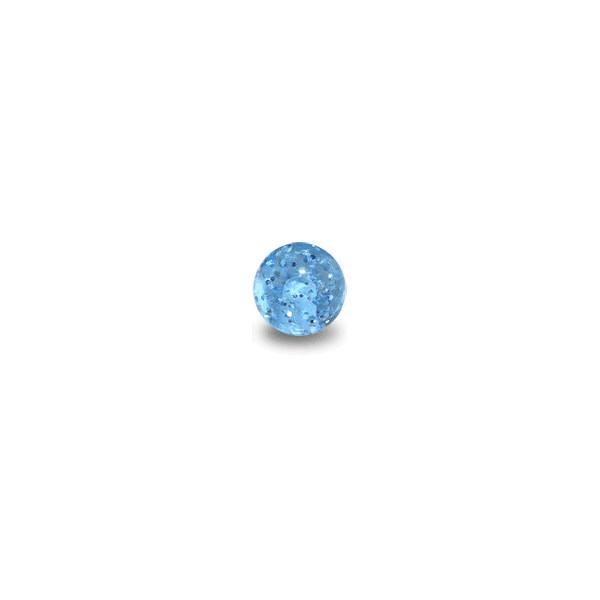 acheter boule de piercing acrylique bleue clair uv. Black Bedroom Furniture Sets. Home Design Ideas