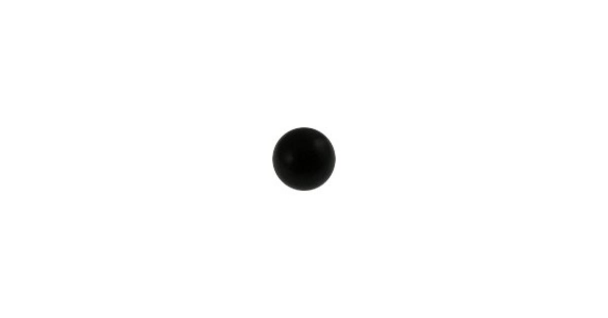 boule de piercing titane grade 23 anodis noir votre piercing. Black Bedroom Furniture Sets. Home Design Ideas
