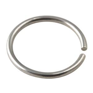 Piercing Nariz Micro Anillo Acero 316L Metálico