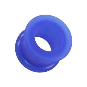 Túnel Oreja / Lóbulo barato Silicona Biocompatible Flexible Azul
