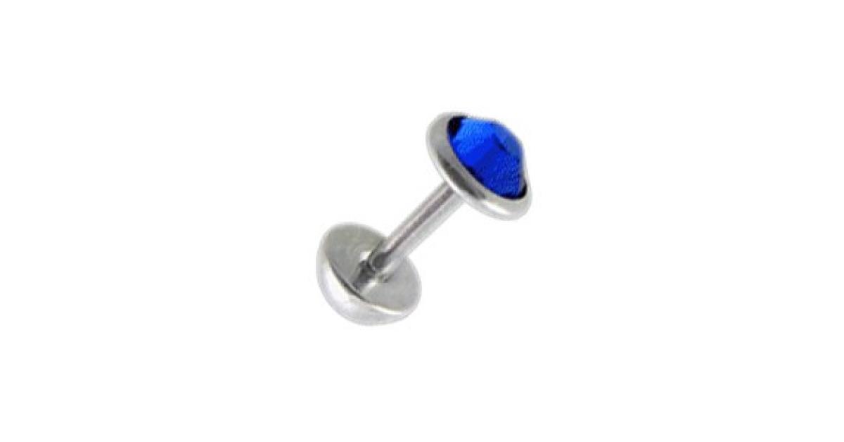Faux plug oreille pas cher zircone cz bleu fonc 5 mm for Faux buis boule pas cher