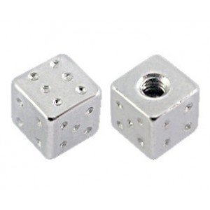 316L Surgical Steel Barbell Only Dice