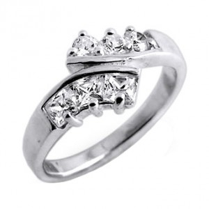 Zirconia 925 Sterling Silver 925ZC-2 Ring