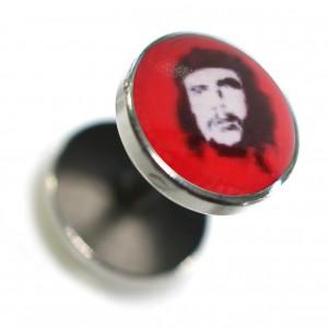 Faux Plug Acier Chirurgical 316L Logo Che Guevara