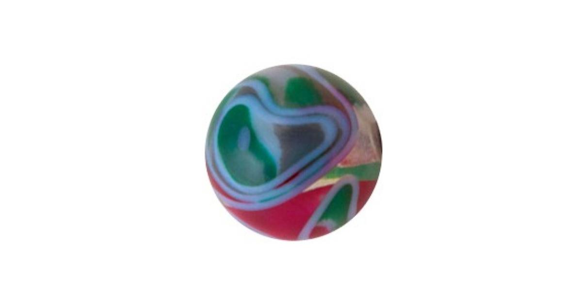 boule piercing acrylique vortex bordeaux vert gris. Black Bedroom Furniture Sets. Home Design Ideas