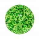 Bola Piercing Acrílico Purpurina Verde