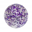 Purple Flakes Acrylic UV Piercing Only Ball