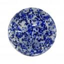 Boule Acrylique Paillettes Bleue
