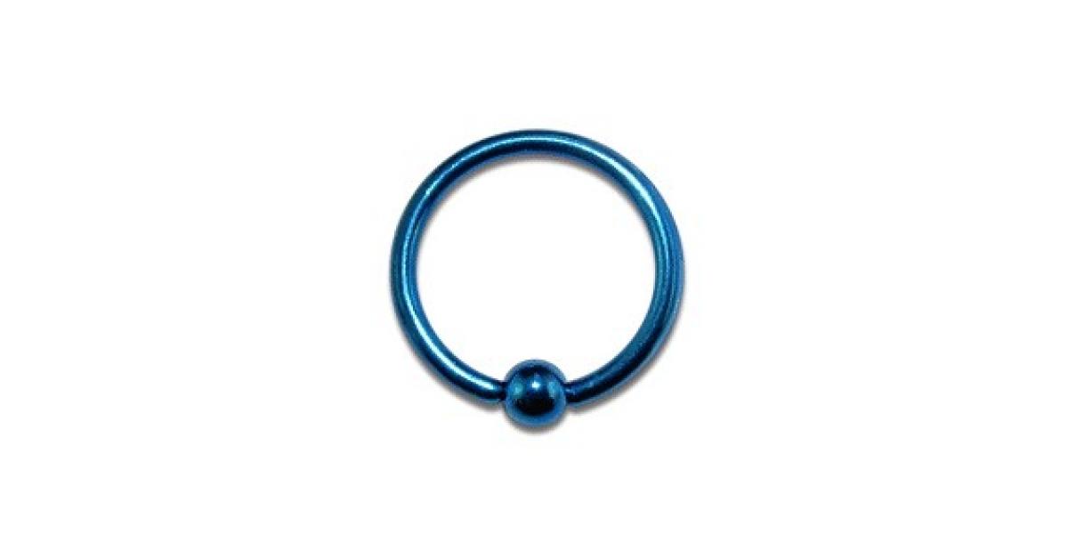 piercing labret anneau pas cher anodis bleu marine fermeture boule. Black Bedroom Furniture Sets. Home Design Ideas