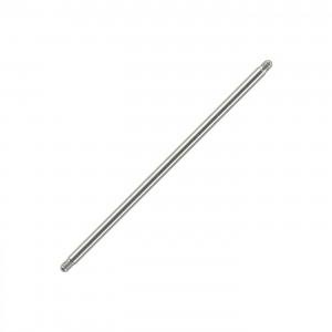 Longue Barre Piercing Industriel Barbell Droit Titane Grade 23