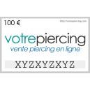 Carte-Cadeau Virtuelle à Télécharger Classique 100 EUR