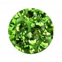 Boule Seule Langue / Nombril Multi-Cristal Vert