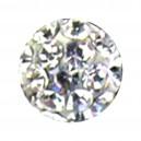 Bola Piercing Sólo Lengua / Ombligo Multi-Cristal Blanco