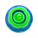 Blue/Green Aztec Acrylic UV Piercing Only Ball