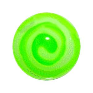 Boule Piercing Acrylique Aztèque Vert Foncé