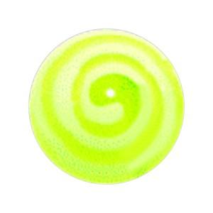 Boule Piercing Acrylique Aztèque Vert Clair