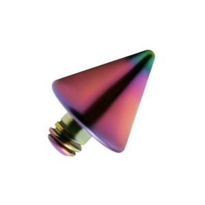 Embout Piercing Microdermal Pique Anodisé Multicolore