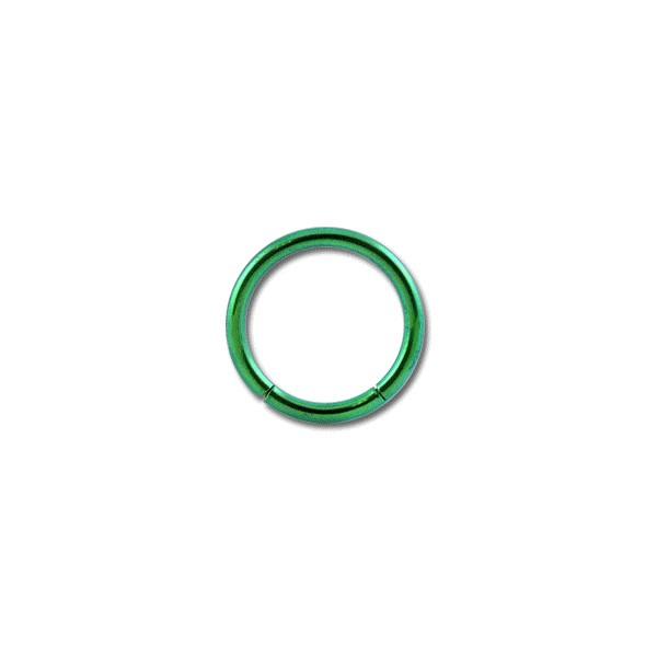 piercing labret anneau titane grade 23 anodis vert. Black Bedroom Furniture Sets. Home Design Ideas