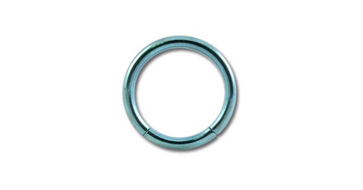 piercing labret anneau titane grade 23 anodis bleu clair. Black Bedroom Furniture Sets. Home Design Ideas