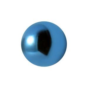Bola de Piercing Acero 316L Anodizado Azul