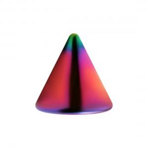 Pique de Piercing Acier 316L Anodisé Multicolore