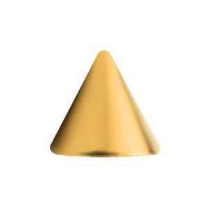 Gold Anodized 316L Steel Piercing Loose Spike