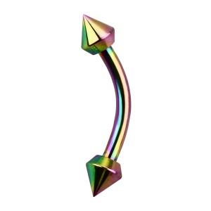 Piercing Arcade Anodisé Multicolore Piques Coupe Spéciale