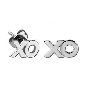 Boucles d'Oreilles Studs Acier Chirurgical 316L Moulées Xoxo