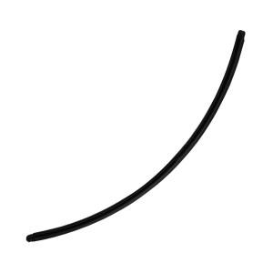 Longue Barre Piercing Nombril Spéciale Grossesse PTFE Noire