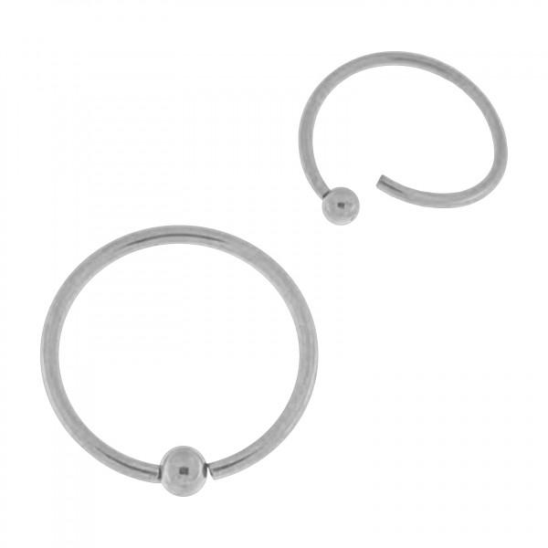Flexible Metallized 316l Steel Bcr Ring