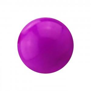 Boule Piercing Acrylique Violette Opaque UV Seule