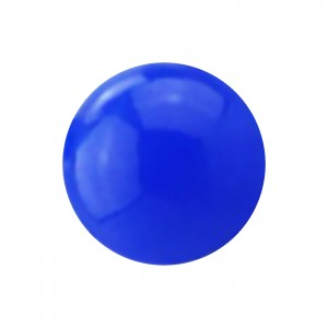 Dark Blue Opaque Acrylic UV Piercing Loose Only Ball