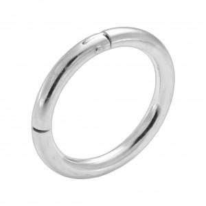 Piercing Segment Ring 925 Sterlingsilber Scharnier