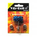 Blue / Black Biocompatible Silicone Vib-Bell Vibrating Tongue Ring