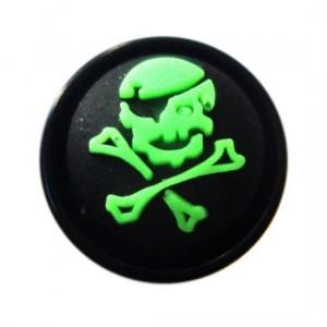 Plug Oreille / Lobe Blackline Pirate Vert