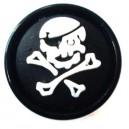 Ohr Plug / Lobe Blackline Pirat Weiß