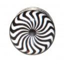 Plug Oreja / Lóbulo Acero Quirúrgico 316L Espiral