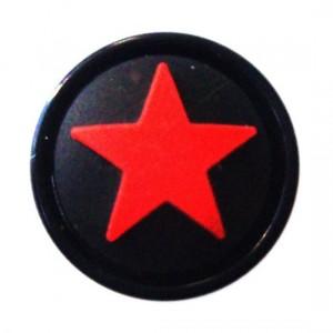 Ohr Plug / Lobe Blackline Stern Rot