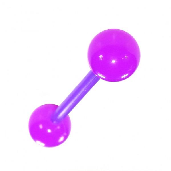 piercing pas cher langue bioflex violet votre piercing. Black Bedroom Furniture Sets. Home Design Ideas