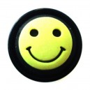 Plug Oreille / Lobe Blackline Smiley Jaune