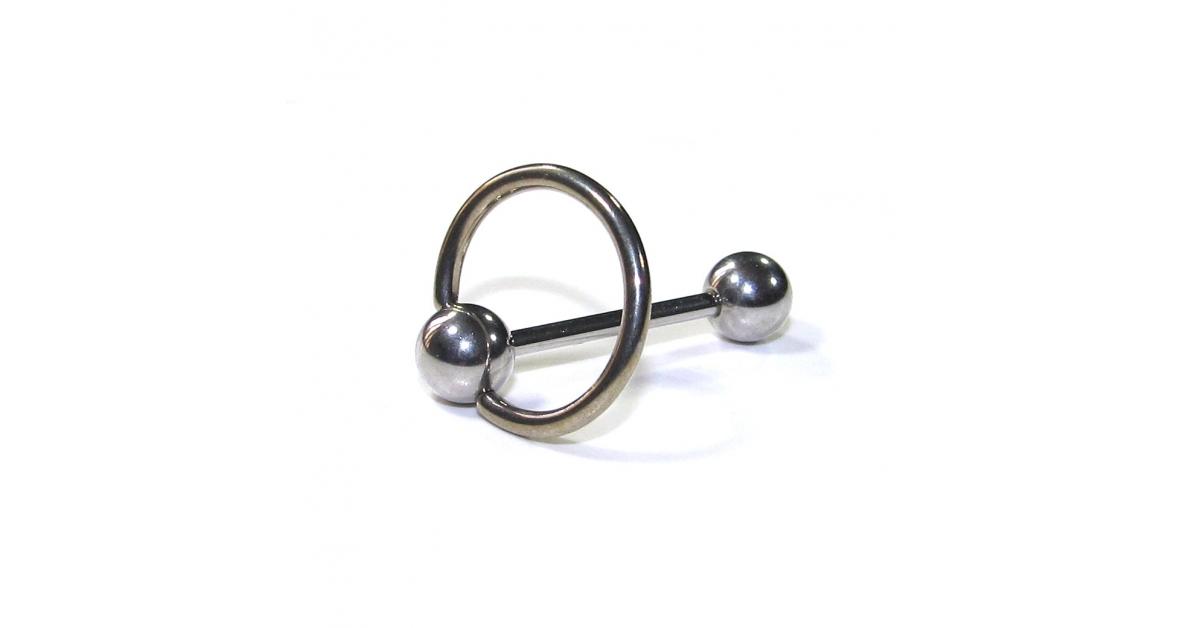 piercing langue pas cher acier chirurgical esclave anneau bcr. Black Bedroom Furniture Sets. Home Design Ideas