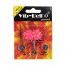 Pink / Pink Biocompatible Silicone Vib-Bell Vibrating Tongue Ring