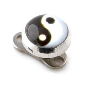 Logo Yin-Yang pour Piercing Microdermal