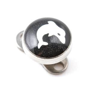Logo Dauphin pour Piercing Microdermal